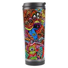 Moster Mask Travel Tumbler by AnjaniArt
