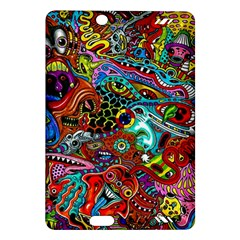 Moster Mask Amazon Kindle Fire Hd (2013) Hardshell Case by AnjaniArt