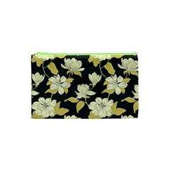 Pattern Rose Cosmetic Bag (xs) by AnjaniArt