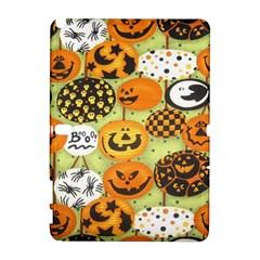 Print Halloween Samsung Galaxy Note 10.1 (P600) Hardshell Case by AnjaniArt