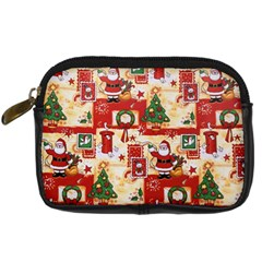 Santa Clause Mail Bird Snow Digital Camera Cases by AnjaniArt