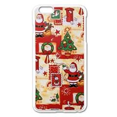 Santa Clause Mail Bird Snow Apple Iphone 6 Plus/6s Plus Enamel White Case by AnjaniArt