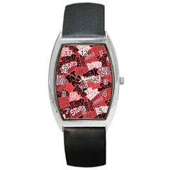 Tals Stupid Barrel Style Metal Watch by AnjaniArt