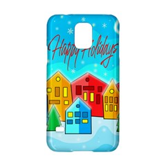 Christmas Magical Landscape  Samsung Galaxy S5 Hardshell Case  by Valentinaart