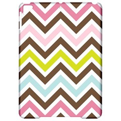 Chevrons Stripes Colors Background Apple iPad Pro 9.7   Hardshell Case by Zeze