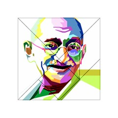 Ghandi Acrylic Tangram Puzzle (4  X 4 ) by bhazkaragriz