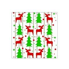 Reindeer Elegant Pattern Satin Bandana Scarf by Valentinaart