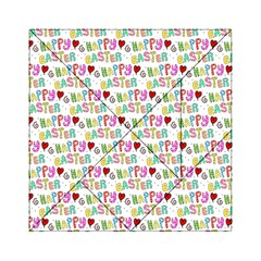 Happy Easter Acrylic Tangram Puzzle (6  x 6 ) by Zeze