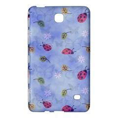 Ladybug Blue Nature  Samsung Galaxy Tab 4 (7 ) Hardshell Case  by Zeze