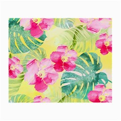 Tropical Dream Hibiscus Pattern Small Glasses Cloth (2 Side) by DanaeStudio