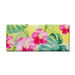 Tropical Dream Hibiscus Pattern Cosmetic Storage Cases by DanaeStudio