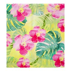 Tropical Dream Hibiscus Pattern Shower Curtain 66  X 72  (large)  by DanaeStudio