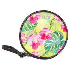 Tropical Dream Hibiscus Pattern Classic 20 Cd Wallets by DanaeStudio
