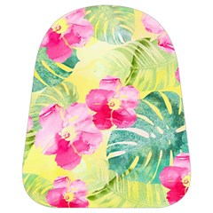 Tropical Dream Hibiscus Pattern School Bags (small)  by DanaeStudio