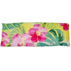 Tropical Dream Hibiscus Pattern Body Pillow Case (dakimakura) by DanaeStudio