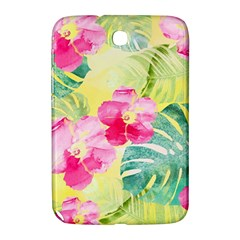 Tropical Dream Hibiscus Pattern Samsung Galaxy Note 8 0 N5100 Hardshell Case  by DanaeStudio
