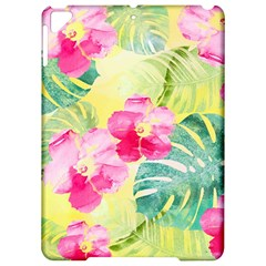 Tropical Dream Hibiscus Pattern Apple iPad Pro 9.7   Hardshell Case by DanaeStudio