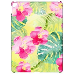 Tropical Dream Hibiscus Pattern Apple iPad Pro 12.9   Hardshell Case by DanaeStudio