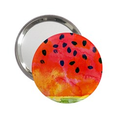Abstract Watermelon 2 25  Handbag Mirrors by DanaeStudio