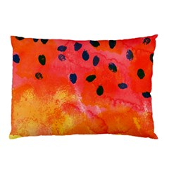 Abstract Watermelon Pillow Case by DanaeStudio