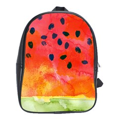 Abstract Watermelon School Bags(large)  by DanaeStudio