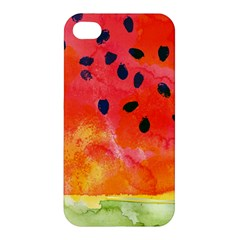 Abstract Watermelon Apple Iphone 4/4s Hardshell Case by DanaeStudio