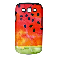 Abstract Watermelon Samsung Galaxy S Iii Classic Hardshell Case (pc+silicone) by DanaeStudio