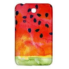 Abstract Watermelon Samsung Galaxy Tab 3 (7 ) P3200 Hardshell Case  by DanaeStudio