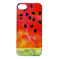 Abstract Watermelon Apple Iphone 5s/ Se Hardshell Case by DanaeStudio