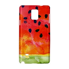 Abstract Watermelon Samsung Galaxy Note 4 Hardshell Case by DanaeStudio