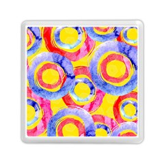 Blue And Pink Dream Memory Card Reader (square)  by DanaeStudio