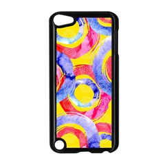 Blue And Pink Dream Apple Ipod Touch 5 Case (black) by DanaeStudio