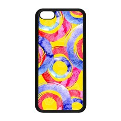 Blue And Pink Dream Apple Iphone 5c Seamless Case (black) by DanaeStudio