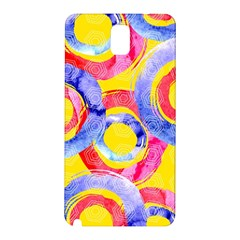 Blue And Pink Dream Samsung Galaxy Note 3 N9005 Hardshell Back Case by DanaeStudio