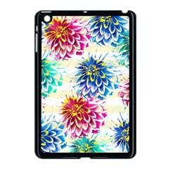 Colorful Dahlias Apple Ipad Mini Case (black) by DanaeStudio