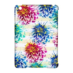 Colorful Dahlias Apple Ipad Mini Hardshell Case (compatible With Smart Cover) by DanaeStudio