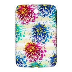 Colorful Dahlias Samsung Galaxy Note 8 0 N5100 Hardshell Case  by DanaeStudio