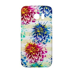 Colorful Dahlias Galaxy S6 Edge by DanaeStudio