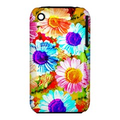 Colorful Daisy Garden Iphone 3s/3gs by DanaeStudio