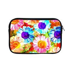 Colorful Daisy Garden Apple Ipad Mini Zipper Cases by DanaeStudio