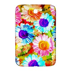 Colorful Daisy Garden Samsung Galaxy Note 8 0 N5100 Hardshell Case  by DanaeStudio