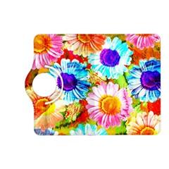 Colorful Daisy Garden Kindle Fire Hd (2013) Flip 360 Case by DanaeStudio