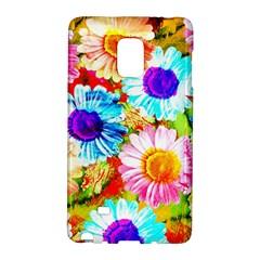 Colorful Daisy Garden Galaxy Note Edge by DanaeStudio