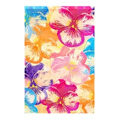 Colorful Pansies Field Shower Curtain 48  X 72  (small)  by DanaeStudio