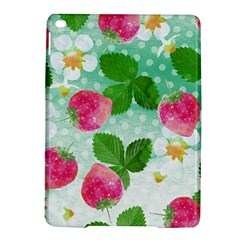 Cute Strawberries Pattern Ipad Air 2 Hardshell Cases by DanaeStudio
