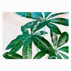 Pachira Leaves  Large Glasses Cloth (2 Side) by DanaeStudio