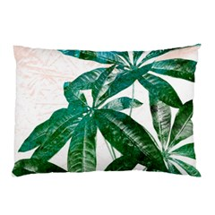 Pachira Leaves  Pillow Case by DanaeStudio
