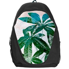 Pachira Leaves  Backpack Bag by DanaeStudio