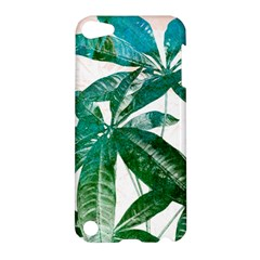 Pachira Leaves  Apple Ipod Touch 5 Hardshell Case by DanaeStudio