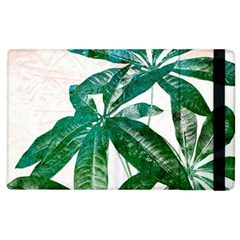 Pachira Leaves  Apple Ipad 2 Flip Case by DanaeStudio